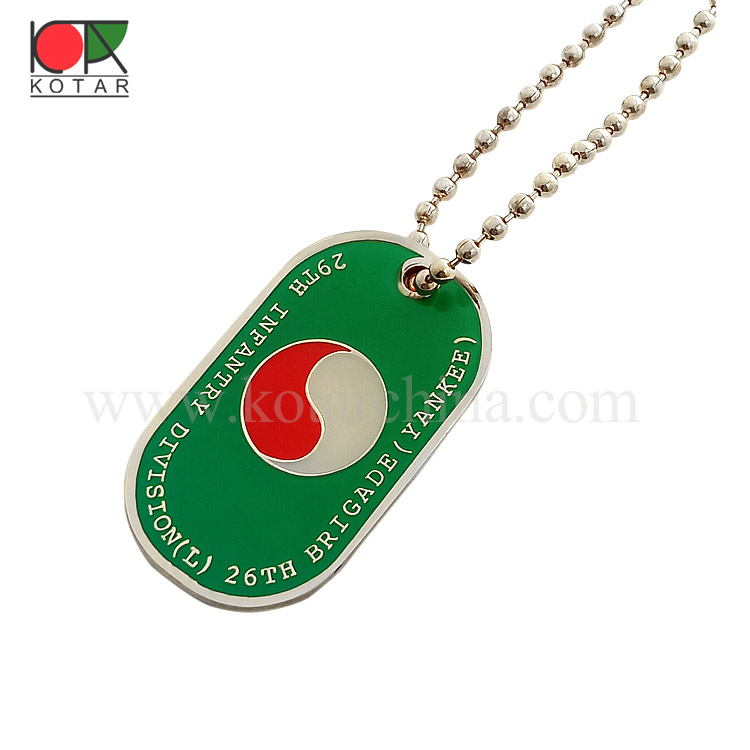 Colored Dog Tags